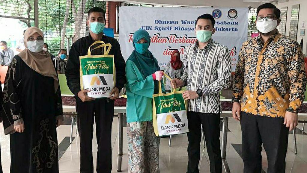Mega Syariah Bantu Masyarakat Terdampak COVID-19