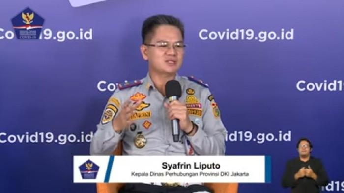 Kadishub DKI Jakarta Syafrin Liputo