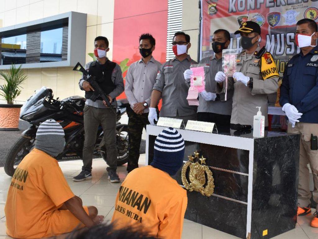 Polisi Tangkap 4 Orang Terkait Narkoba di Sumsel, Salah Satunya PNS