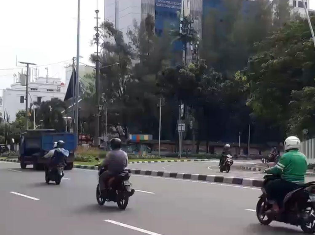 H+4 Lebaran, Sejumlah Ruas Jalan di Jakarta Lancar