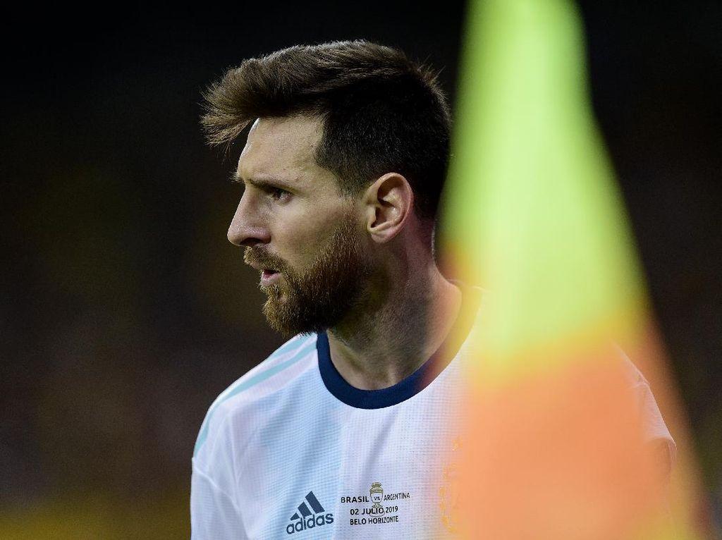 Messi Terpukul karena Copa America 2020 Ditunda