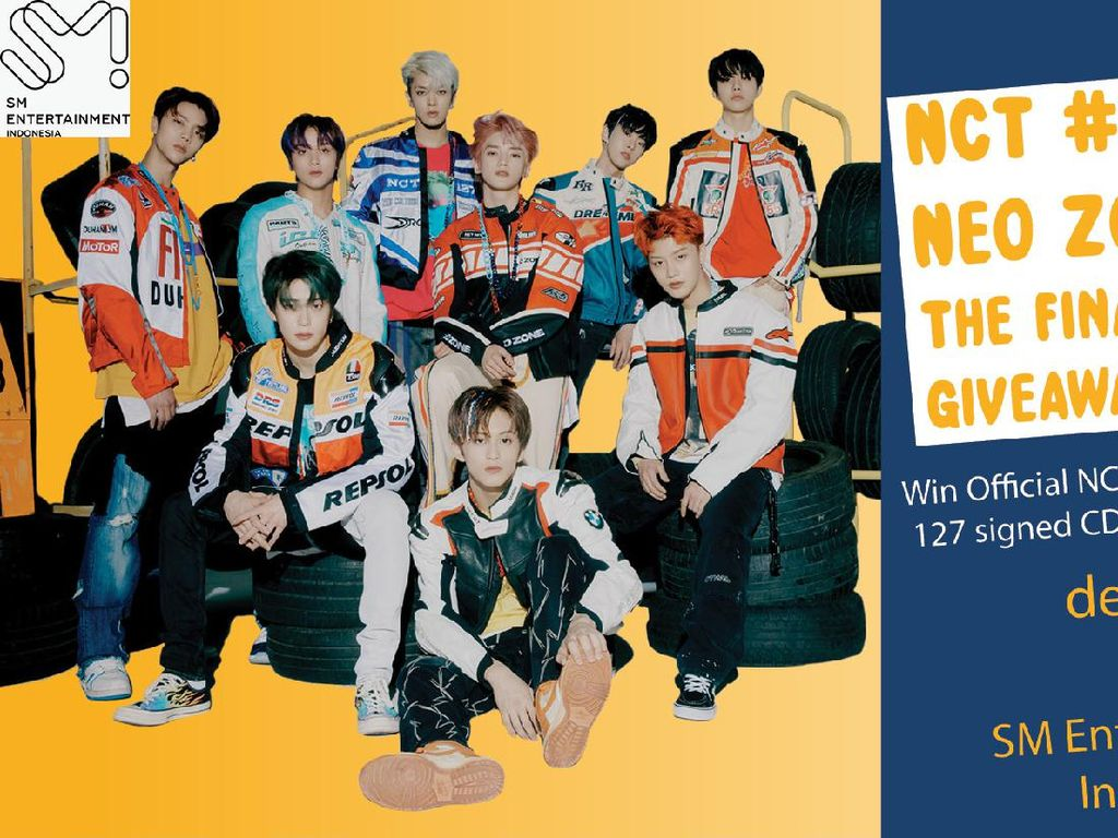 Masuk Sini! Ada CD NCT 127 Neo Zone: The Final Round Bertanda Tangan