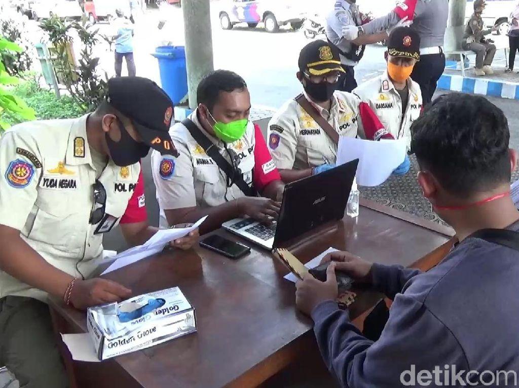 Cek Kesiapan Penyekatan Pemudik, Polda Bali Sampai Turun Ke Banyuwangi