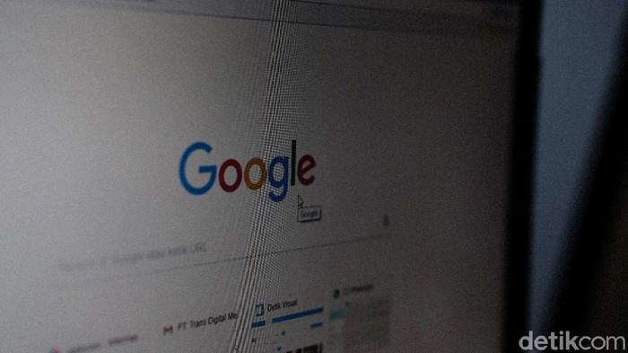 Ilustrasi Google, ilustrasi YouTube, dan ilustrasi Facebook