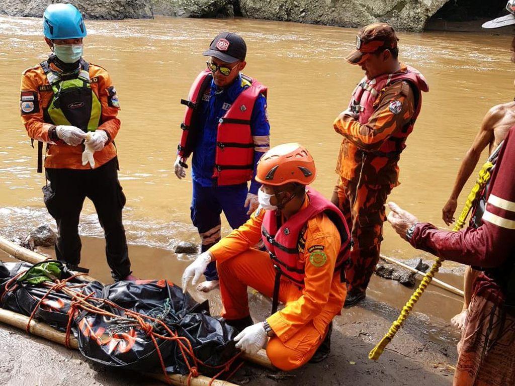 Pria yang Hilang Saat Mancing di Sungai Cimanuk Garut Ditemukan Tewas