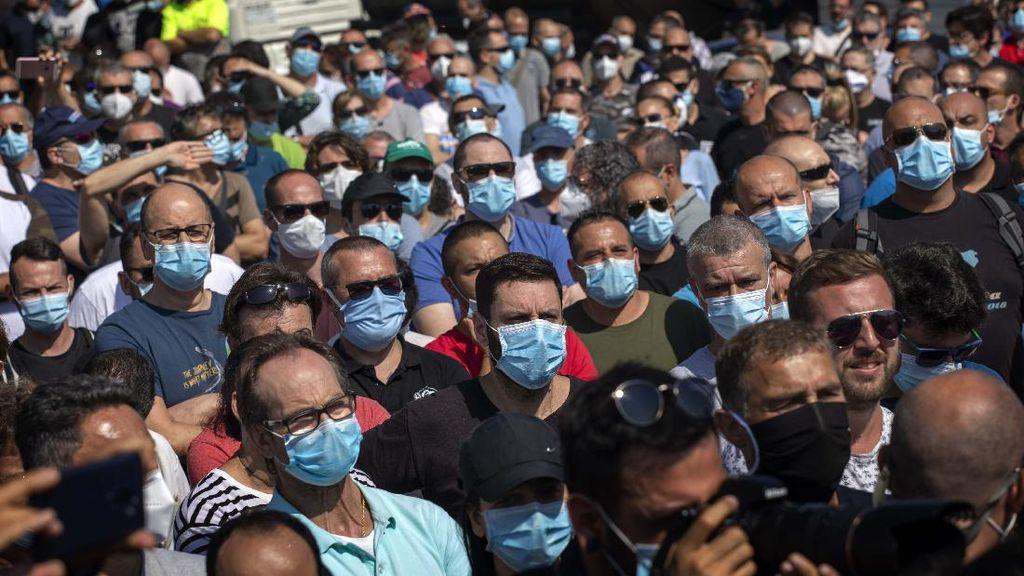 Ratusan Pekerja Nissan Demo Tolak Penutupan Pabrik di Spanyol
