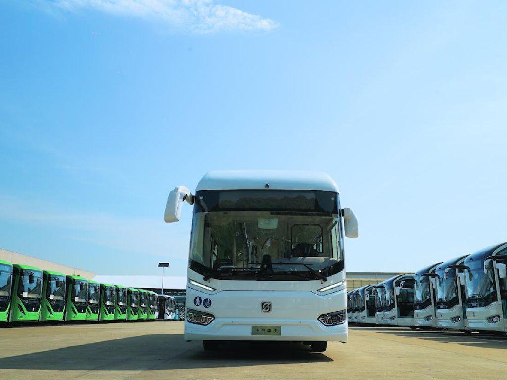 Bus China Anti-Corona