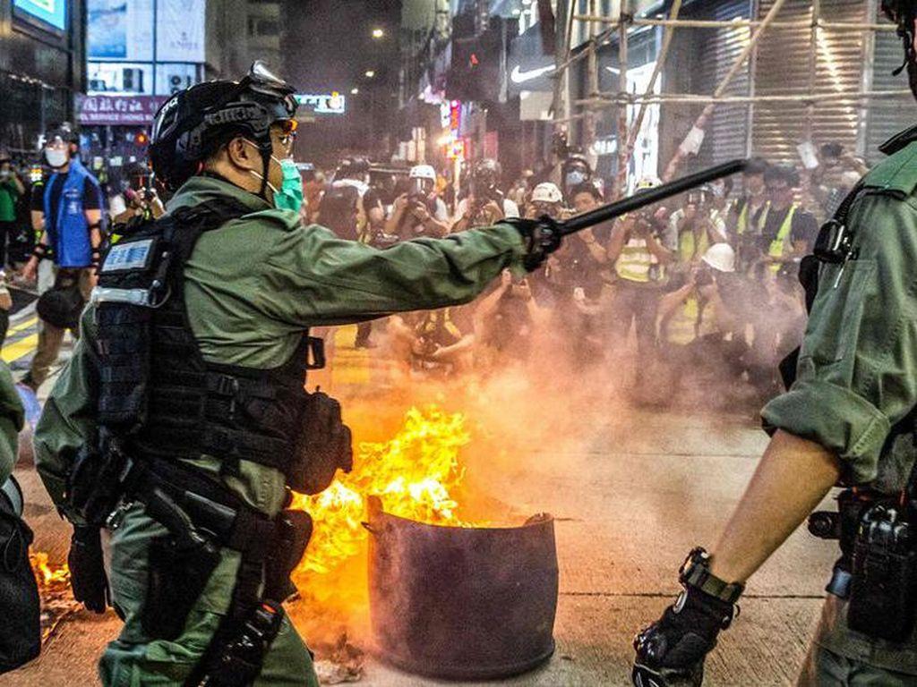 AS dan Sekutu Kecam Penerapan UU Keamanan China di Hong Kong