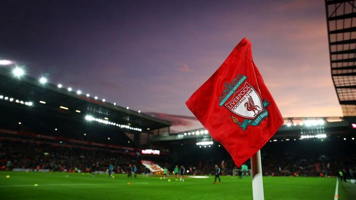 LIVERPOOL, ENGLAND - DECEMBER 29: A general view inside the stadium during the Premier League match between Liverpool FC and Wolverhampton Wanderers at Anfield on December 29, 2019 in Liverpool, United Kingdom. (Photo by Clive Brunskill/Getty Images)