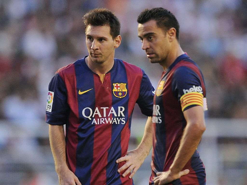 Messi dan Xavi Jadi Jualan Kandidat Presiden Barca Ini
