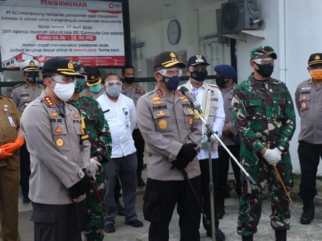 TNI-Polri Akan Jaga 120 Titik Prioritas Penerapan New Normal di Tangerang