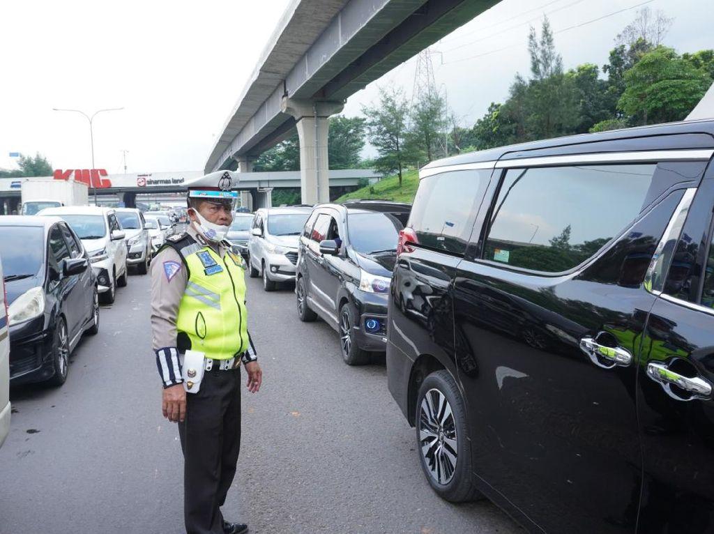 Arus Balik, 298 Ribu Kendaraan Menuju Jakarta, Ini Rinciannya