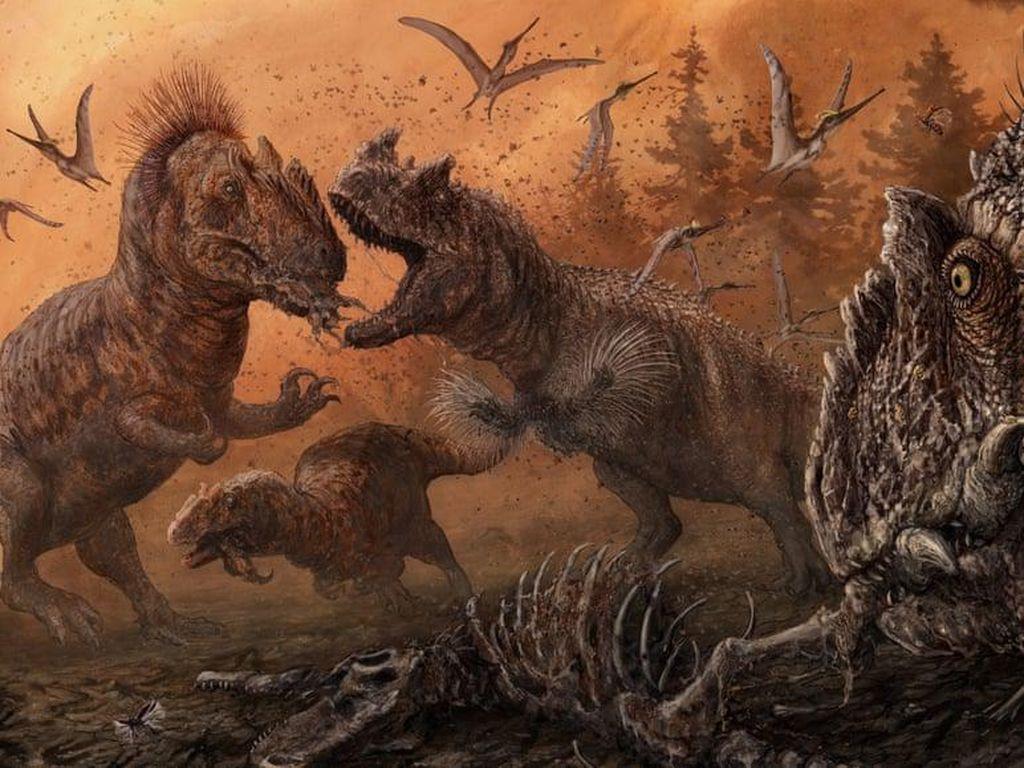 Ilmuwan Temukan Dinosaurus yang Diduga Kanibal