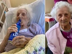 5 Nenek Usia 100 Tahun Ini Sembuh dari Corona, Intip Rahasia Makannya