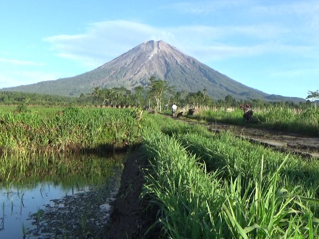 Keluarkan 17 Kali Letusan, Status Gunung Semeru Waspada
