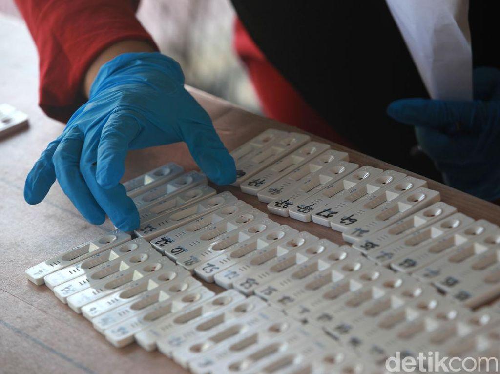 Kemenkes Gelar Rapid Test Corona Massal di Setiabudi Jaksel