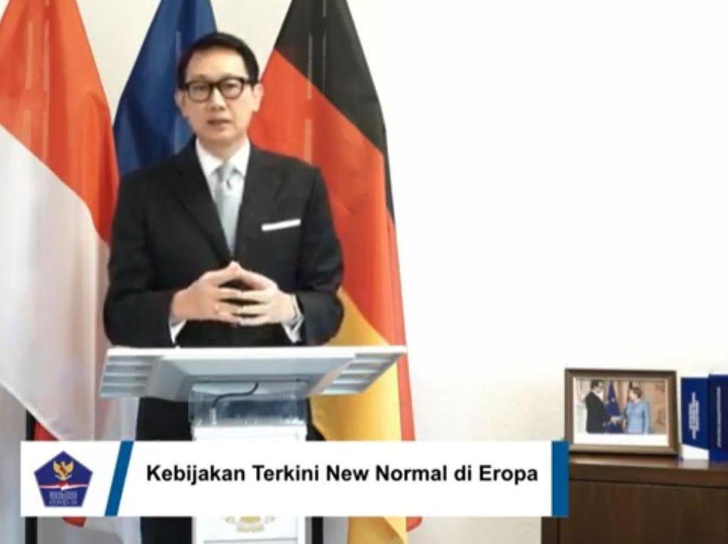 Dubes Arief Cerita Suksesnya Jerman Tangani Corona yang Bisa Dipelajari RI