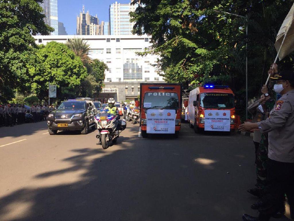 TNI-Polri Angkatan 96 Sebar 15.000 Sembako ke Warga Terdampak COVID-19