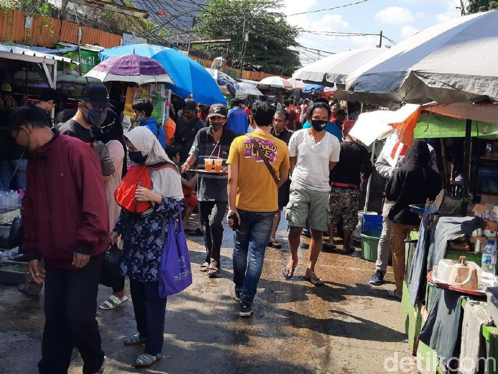 Ikatan Pedagang Kritik Pengawasan Pasar di DKI: Minim Edukasi COVID-19