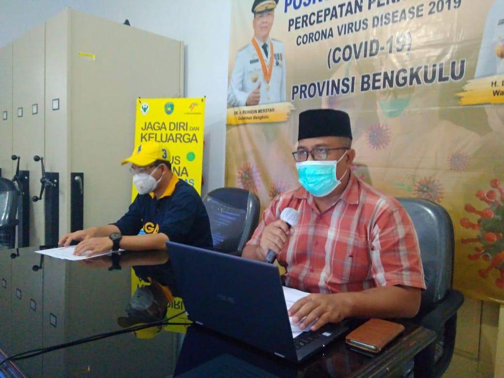 Total Kasus Positif Corona di Bengkulu Jadi 86 Orang, 22 Sudah Sembuh
