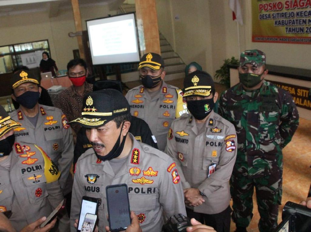 Polri Apresiasi Kampung Tangguh di Malang, Layak Ditiru Atasi Corona