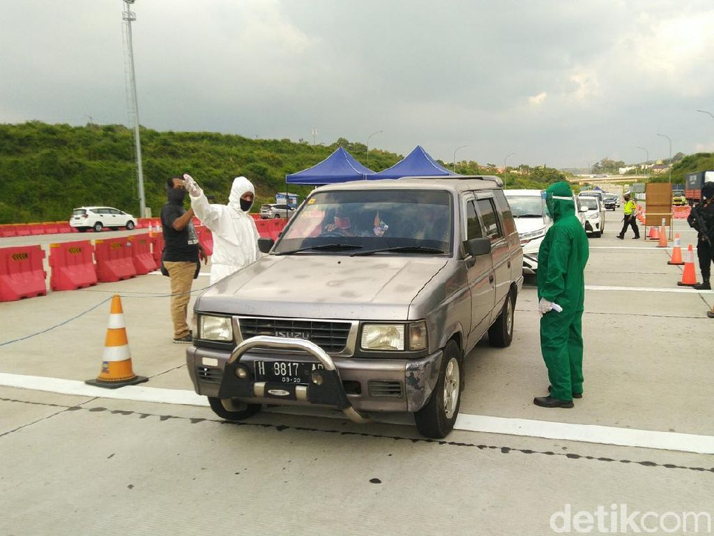 Polisi Sebut 3.400 Kendaraan yang Akan Keluar Jateng Diminta Putar Balik