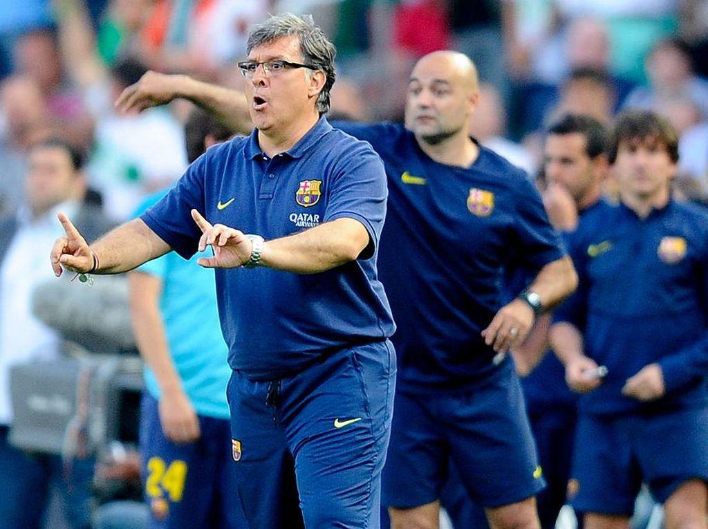 Melatih Barcelona Jadi Periode Terburuk Tata Martino