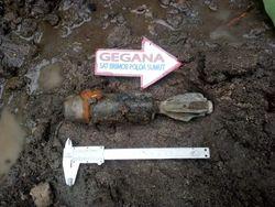 Satu Mortir Ditemukan di Areal Ladang Warga di Simalungun Sumut