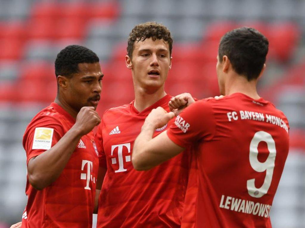Hasil Liga Jerman Pekan ke-29: Bayern dan Dortmund Pesta Gol