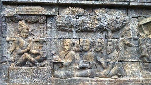 Relief of Borobudur Temple