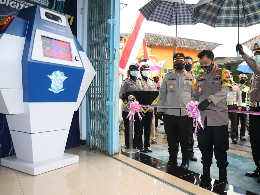 Kampung Tangguh Tulungagung Ini Dekatkan Warga dengan Polisi Tanpa Tatap Muka