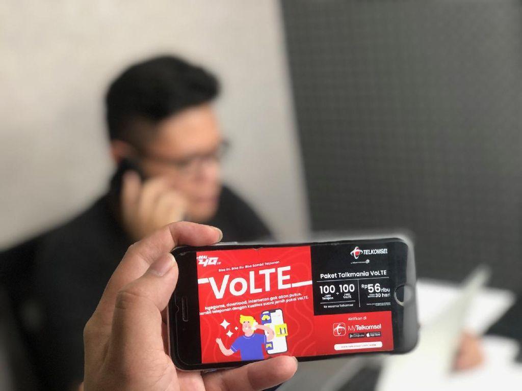 VoLTE Telkomsel Diklaim Lebih Jernih dari Voice Call WhatsApp
