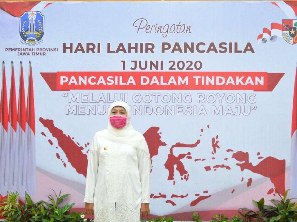 Khofifah: Dengan Gotong Royong, Indonesia Bisa Melewati Pandemi
