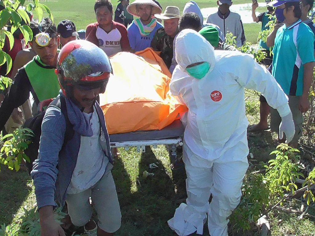 Korban Ketiga yang Tenggelam di Sungai Polman Ditemukan Tewas Membusuk