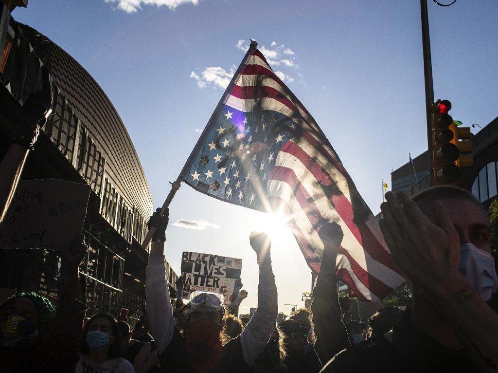 Rasialisme yang Makin Menjadi-jadi di AS Ketika Pandemi