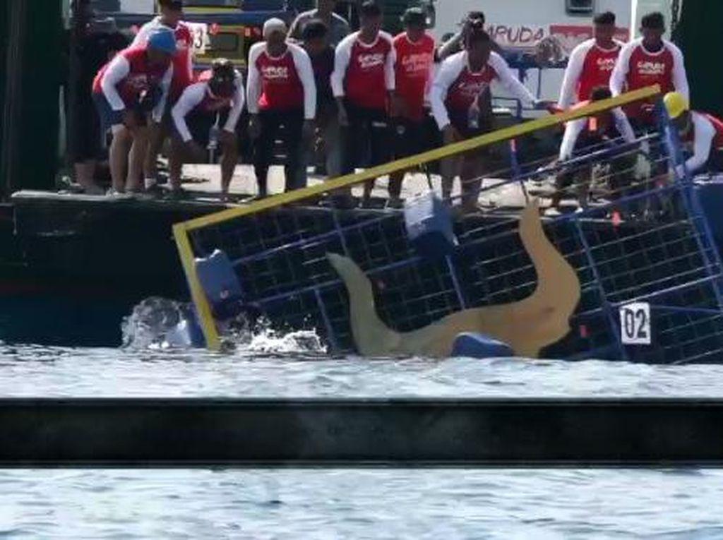 Peringati Hari Lahir Pancasila, TNI AL Makassar: Garuda di Lautku