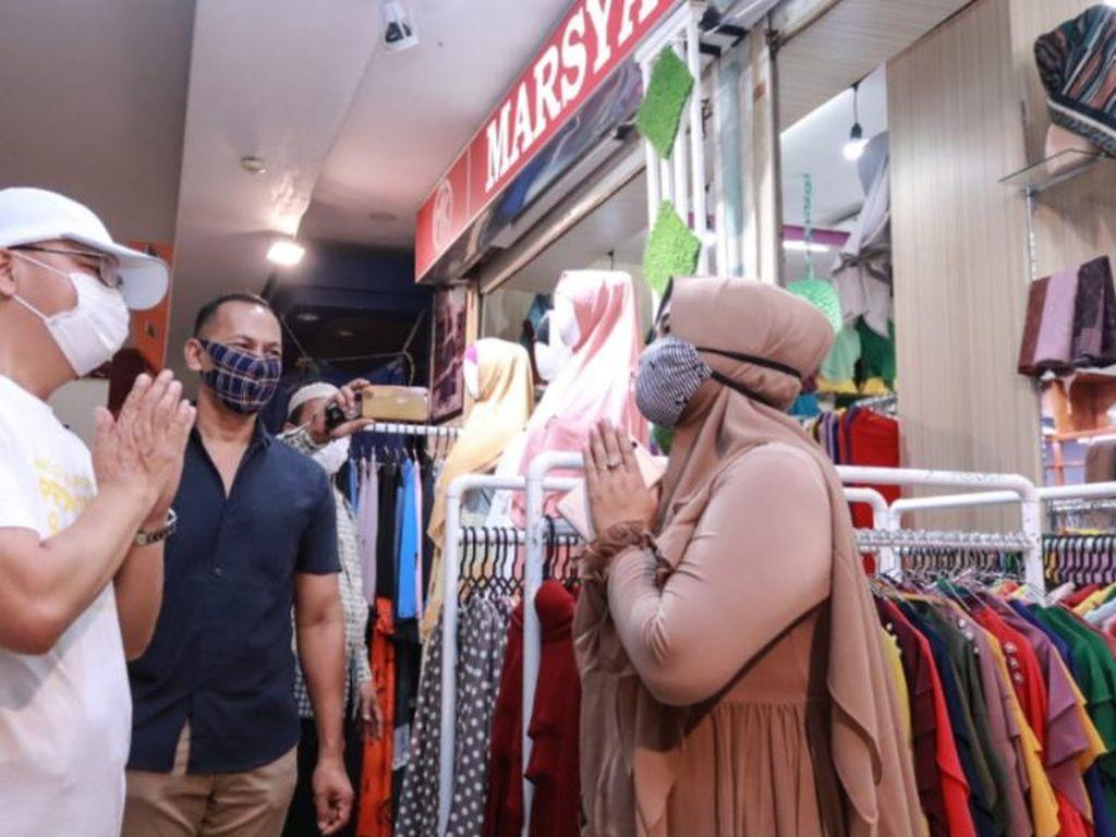 Datangi Pasar-Mal, Gubernur Bengkulu Masih Temukan Warga Tak Pakai Masker
