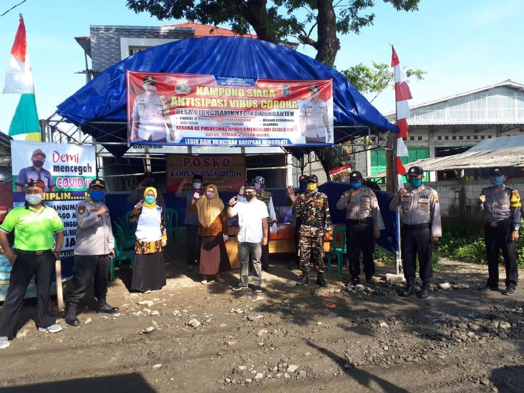 Hadapi New Normal, Polda Jateng Bentuk 285 Kampung Siaga COVID-19