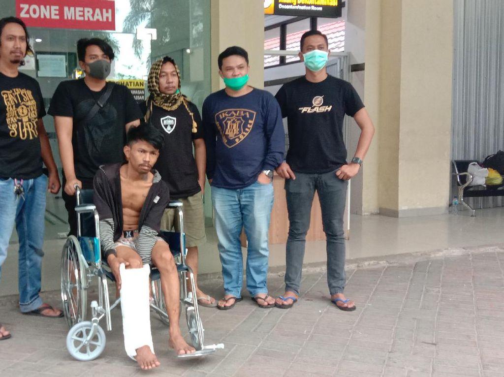 Pukul Polisi, Pelaku Pencurian di Toko Bangunan Makassar Ditembak