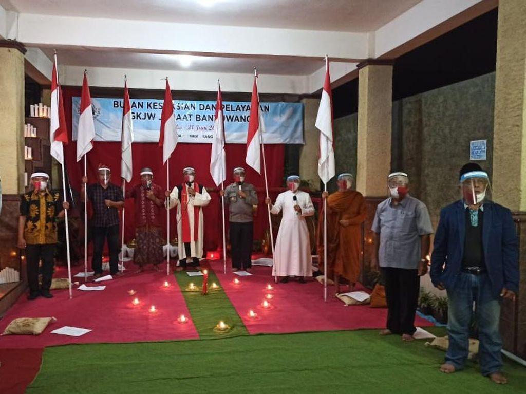 Hari Lahir Pancasila, Tokoh Lintas Agama Banyuwangi Gelar Doa untuk Bangsa