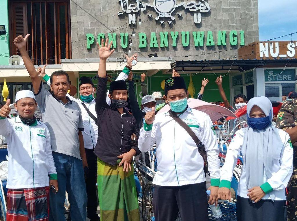 PCNU Banyuwangi Ajak Tukang Becak Jagongan soal Pancasila