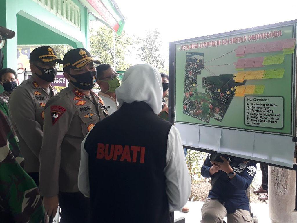 Polisi Bojonegoro Bikin Aplikasi Warga Terpapar Corona di Kampung Tangguh