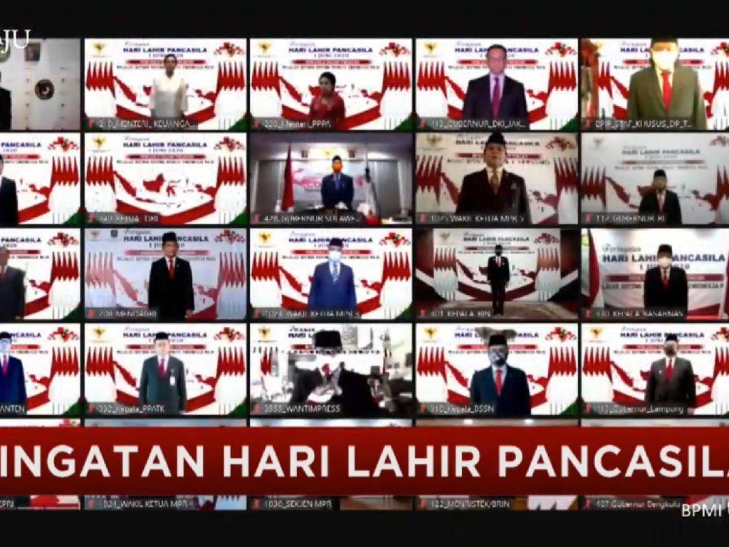Para Kepala Daerah Juga Hadiri Peringatan Hari Lahir Pancasila Secara Virtual