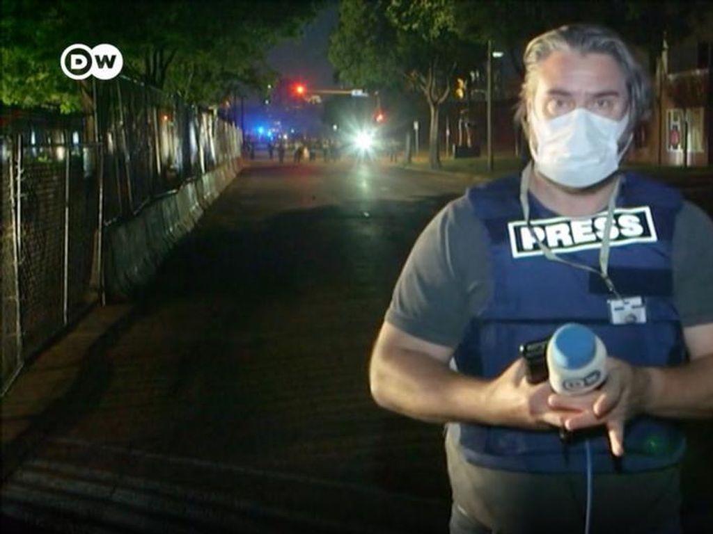 Wartawan DW Ditembaki Polisi AS Saat Meliput Kerusuhan di Minneapolis
