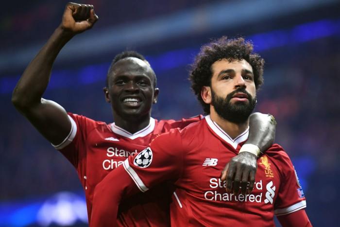 Sadio Mane dan Mohamed Salah