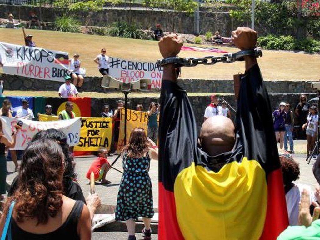 Australia Punya Momen Seperti George Floyd, Tapi Tak Memicu Kecaman Luas