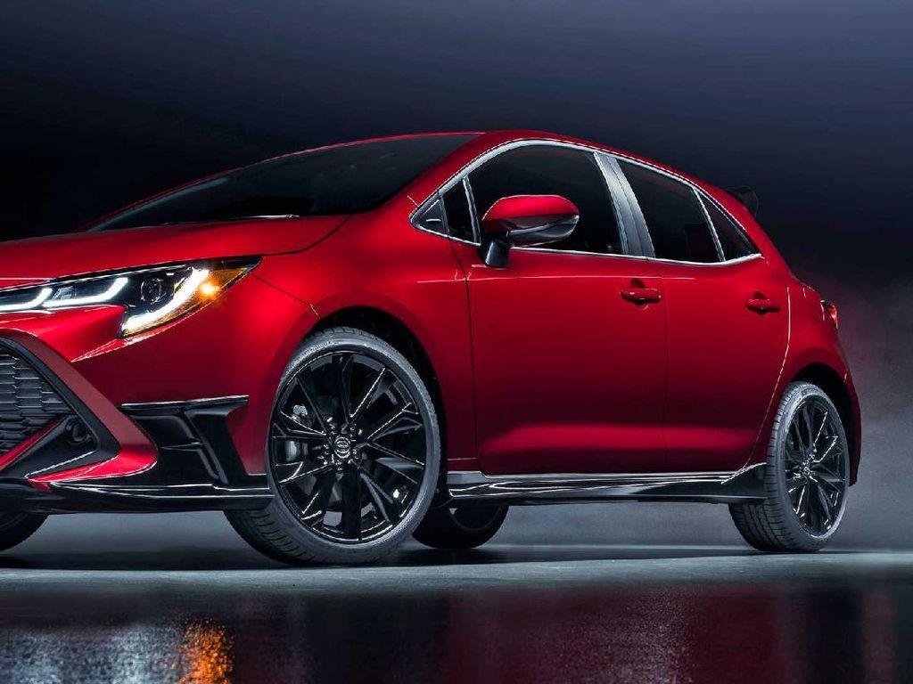 Ini Bocoran Toyota Corolla Versi Hatchback, Warna dan Unitnya Terbatas
