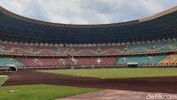 Penampakan Stadion Utama Riau yang Mulai Kinclong