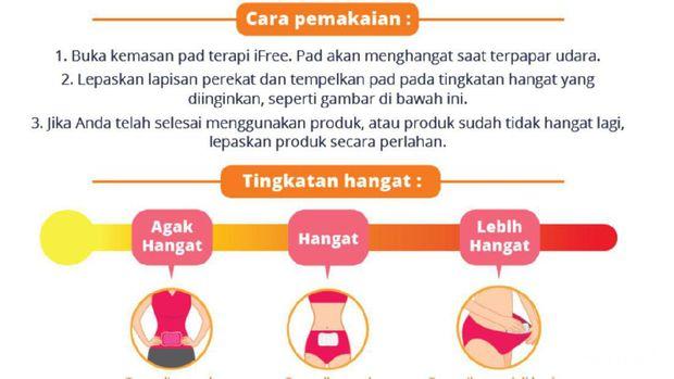 Ifree Pad Terapi Hangat