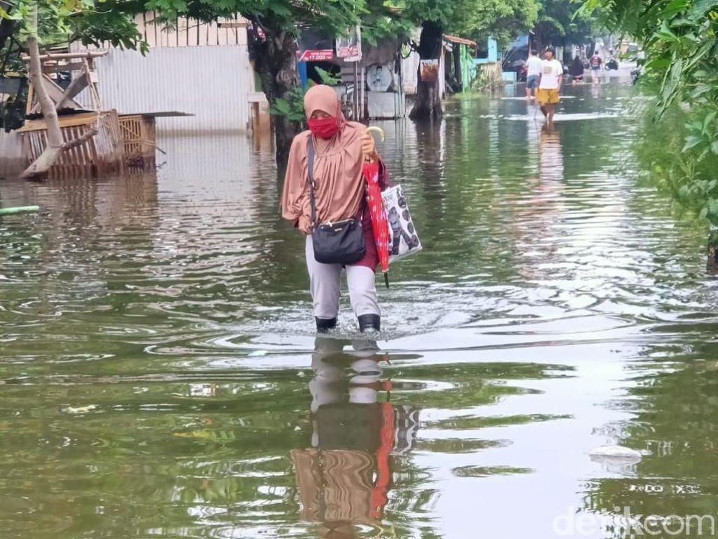 Banjir Rob di Pekalongan Mulai Surut, Sebagian Pengungsi Pulang
